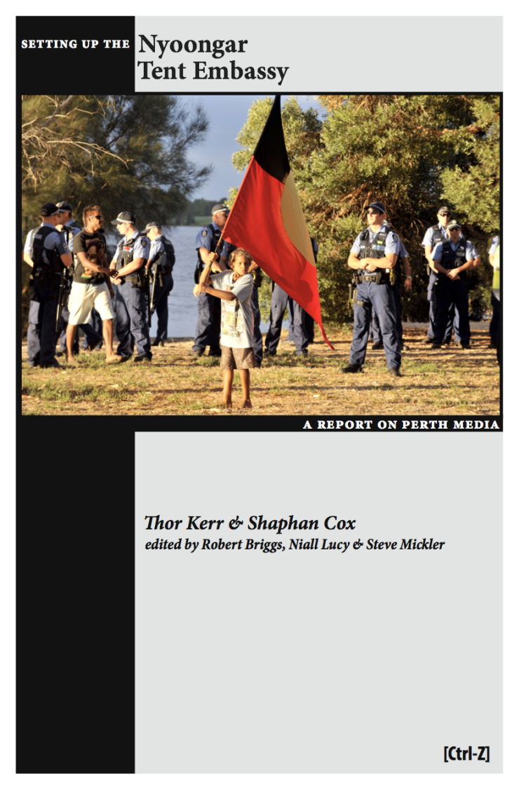 Setting Up the Nyoongar Tent Embassy, Thor Kerr & Shaphan Cox